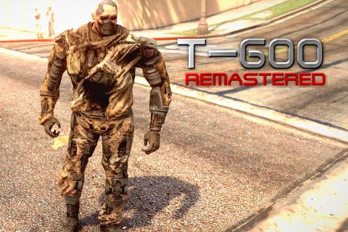 Terminator T-600 Remastered (re-texture)