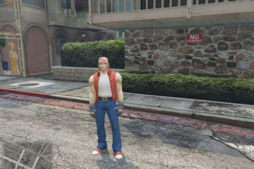 Terry Bogard (Add-On Ped)