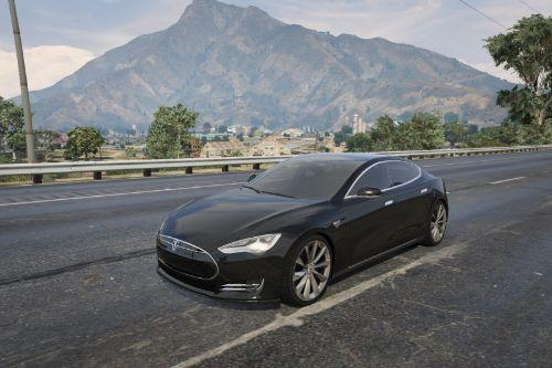 Tesla Model S 2016 Handling (Plaid edition)