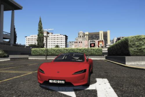 Tesla Roadster 2020 [Add-On | EU Plates | Unlocked | Extra | DirtMap | Auto Spoiler]