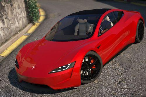 Tesla Roadster 2020 [Add-On / Replace / Auto Spoiler]
