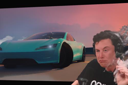 Tesla Roadster 2020 drift handling