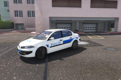 Renault Mégane - Turkish Police Skin
