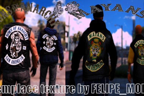 Samcro and Mayans new texture
