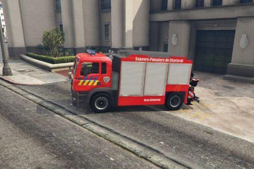 [Texture] Camion Bras Porte-Conteneur Pompier Belgique