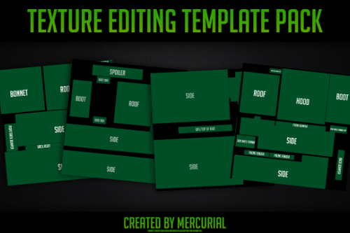 Texture Editing Template Pack