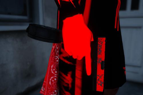 "Texture for Jridah Glock 18C ""Demon Time"" [Works for FiveM and GTA5]"