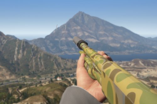Camo Texture for Jridah's Remington 870
