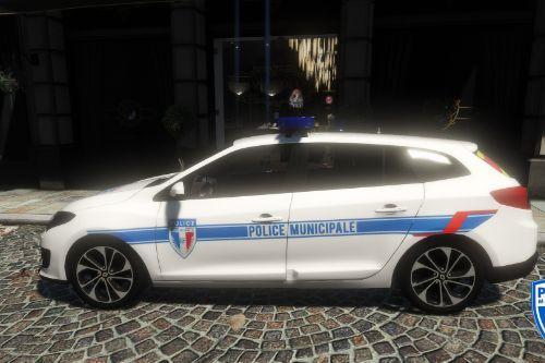 Texture Mégane 3 Police Municipale V2