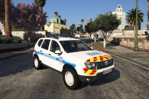Texture police municipale Dacia Duster