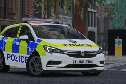 Thames Valley Police Astra MK7 (2018 - Response)