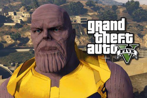 Thanos! Cinematic HD! - Retexture
