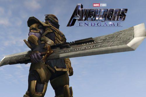 Thanos Double-Edged Sword (Avengers Endgame)