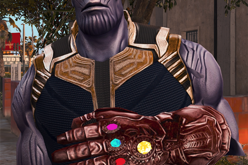 Thanos Final version (Thanos by nsh3t Retexture)