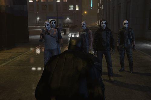 The Batman 2022: gang (Retexture).