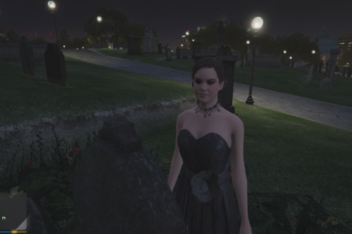 4746ce cemetery ghost lady