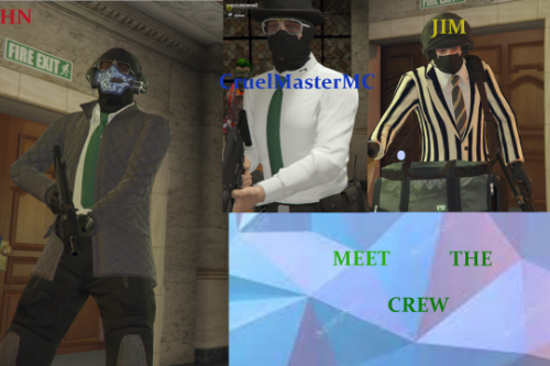 The Crew BodyGuard menu