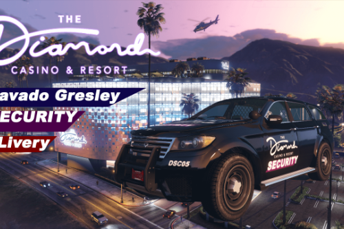 The Diamond Casino and Resort Security Livery for Bravado Gresley