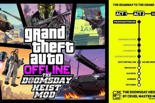 The Doomsday Heist ACT 2 Porting to GTA ONLINE - OFFLINE MOD