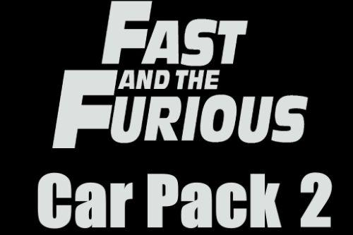 The Fast and the Furious Cars Pack 2 [Add-On | Animated]
