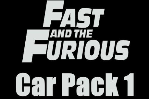 The Fast and the Furious Cars Pack [Add-On | Animated]