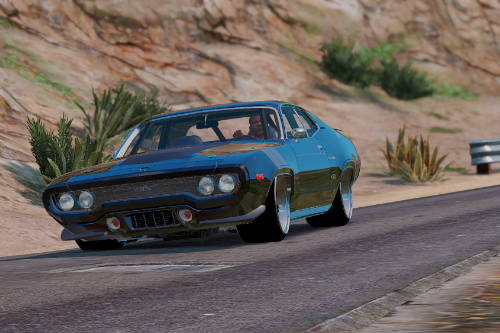 The Fate of the Furious  Plymouth GTX [Add-On / Replace]