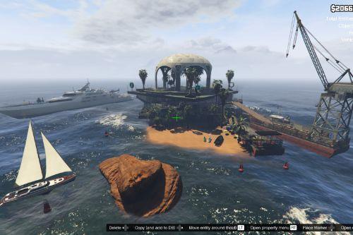 The Gold Triangle Island