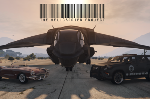 The SHIELD Helicarrier Project [YMAP][ADDON]