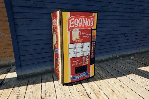 The Original Eggnog Vending Machine