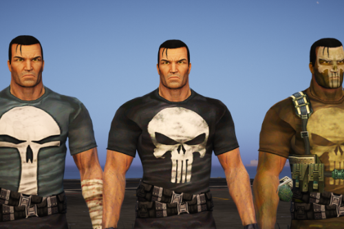 The Punisher Remastered pack