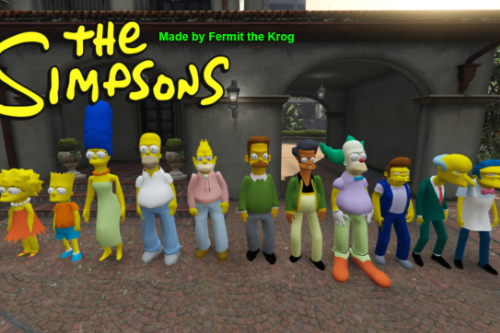 The Simpsons Pack [Add-On Peds]