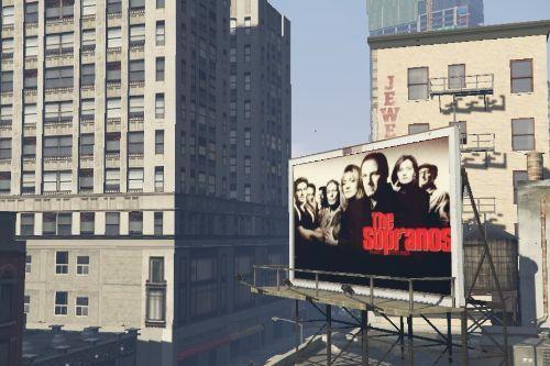 The Sopranos TV Show Billboard
