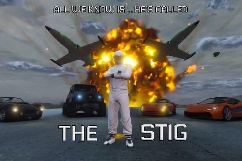 The Stig Racing Suit