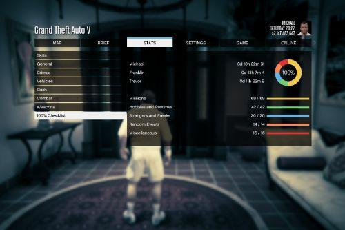 The Ultimate, Fully Completed GTA 5 Save File
