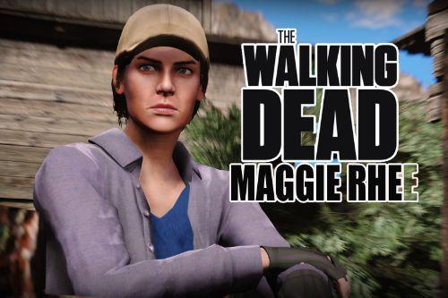 The Walking Dead - Maggie Rhee [AddOn Ped]