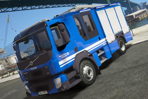 THW Volvo Truck Skin [ELS]