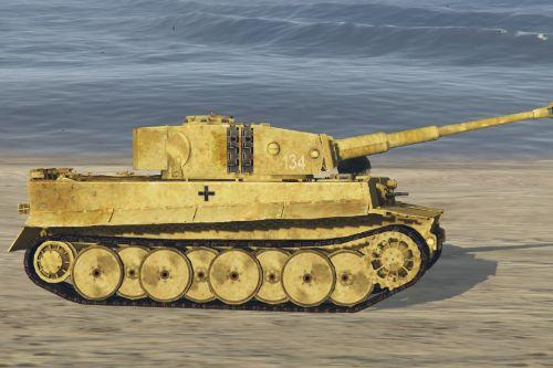 New Skin for Tiger I WW2