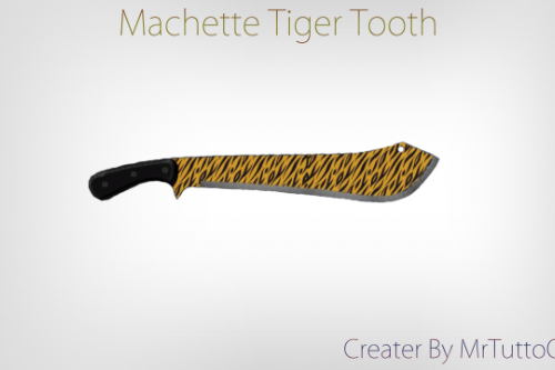 C31df3 machette tiger tooth