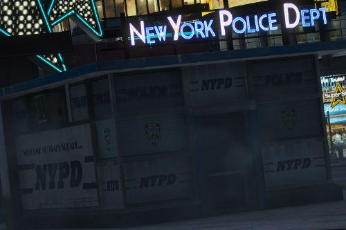 Times Square/NYPD Booth (Liberty City Rewind Add-On)