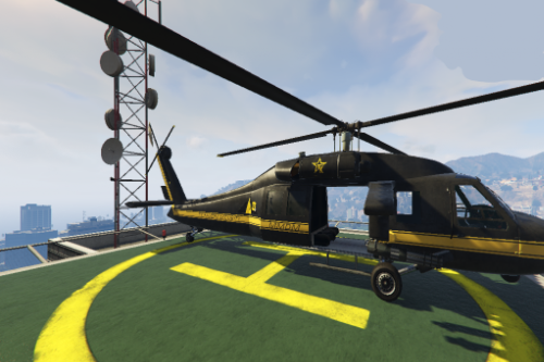 TK Security Helicopter Paintjob