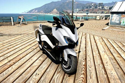 YAMAHA TMAX 530 DX [Add-On] with police version