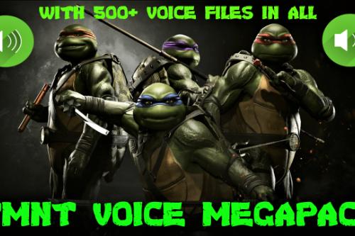 TMNT Voice Megapack