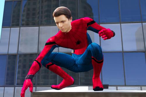 TOM HOLLAND SPIDER-MAN  (MCU) UNMASKED