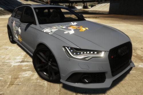 Tom&Jerry Livery Audi RS6 | ndy_rs6