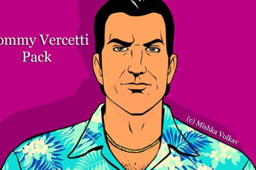 Tommy Vercetti Pack from GTA Vice City