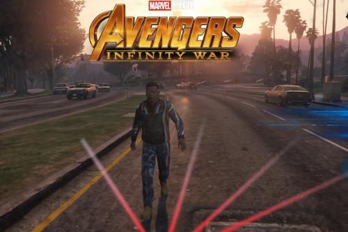Tony stark (Avengers Infinity War) Jacket + Pants to Franklin
