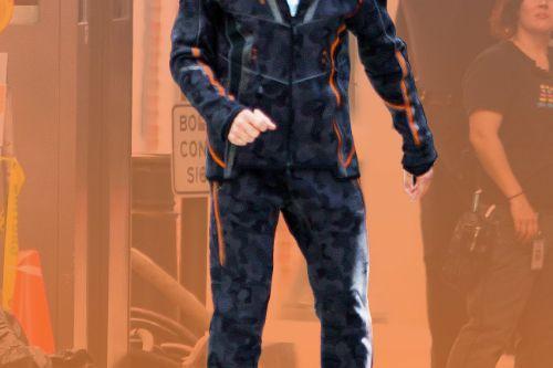 Tony stark (Avengers Infinity War) Jacket + Pants to Micheal