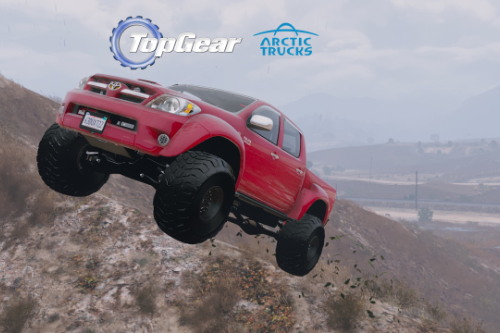 2007 Top Gear Toyota Hilux AT38 Arctic Trucks [Add-On / Tuning]
