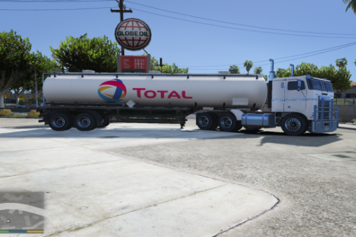 Total Truck and Tanker Paintjob