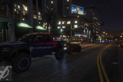 Tow Truck Carabinieri (italian police) Ford Raptor